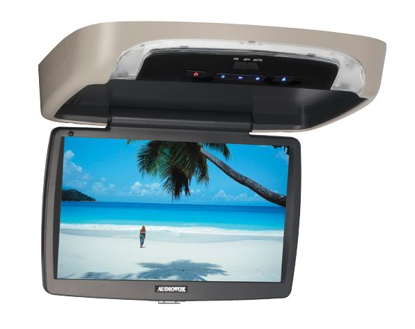 Voxx VODDLX10A - 10.1 inch Hi-Def Overhead Digital Monitor with Built-in DVD Player