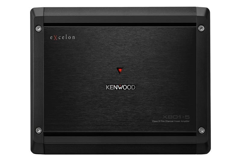 Kenwood X801-5 - Class D 5-Channel Power Amplifier - Freeman's Car Stereo