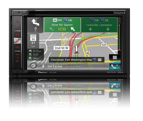 Kenwood DNX695S 6.8 Inch Apple CarPlay, Android Auto DVD Receiver with Navigation and Bluetooth