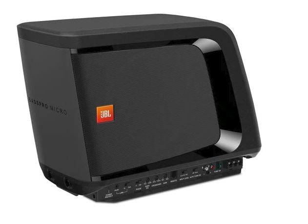 JBL BassPro Micro - Dockable Powered Subwoofer System - Freeman's Car Stereo