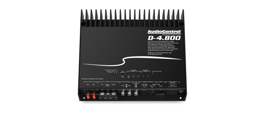 Audio Control D-4.800 Amplifier - Freeman's Car Stereo