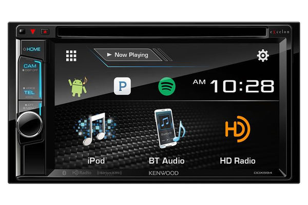 Kenwood eXcelon DDX594 - 2Din Multimedia Receiver - Freeman's Car Stereo