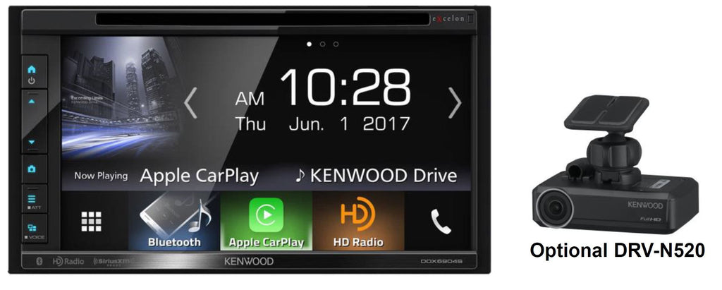 "Kenwood DDX6904S - 6.8"" Multimedia Receiver - Freeman's Car Stereo"