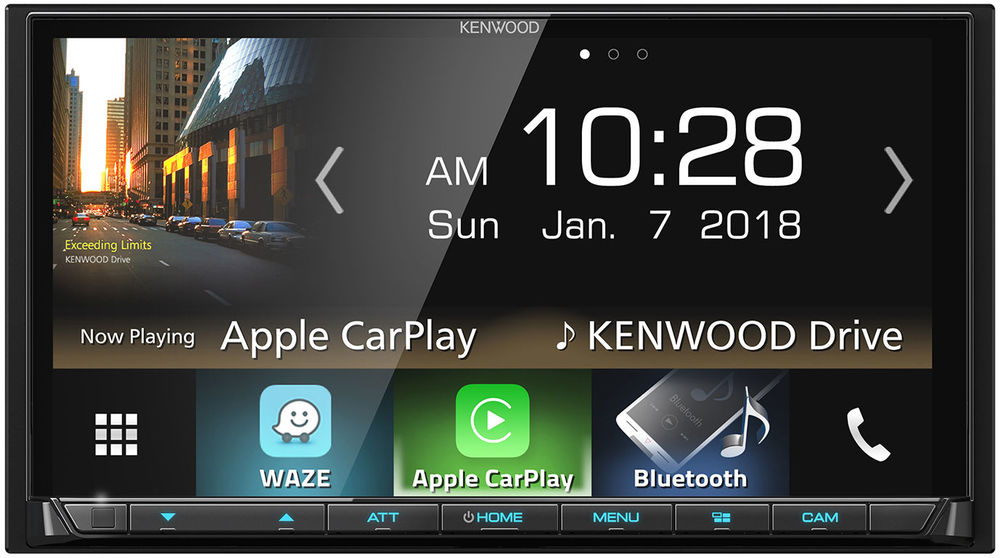 "Kenwood DMX7705S 6.95"" Digital Multimedia Receiver - Freeman's Car Stereo"