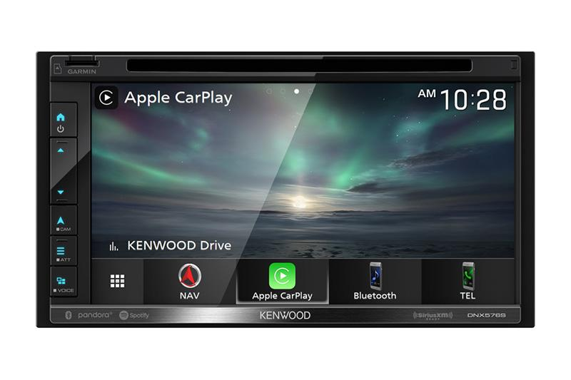 Kenwood DNX576S  - Navigation Apple CarPlay & Android Auto DVD Receiver with Bluetooth
