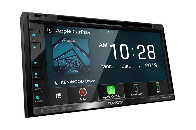 Kenwood DNX576S  - Navigation Apple CarPlay & Android Auto DVD Receiver with Bluetooth - Freeman's Car Stereo