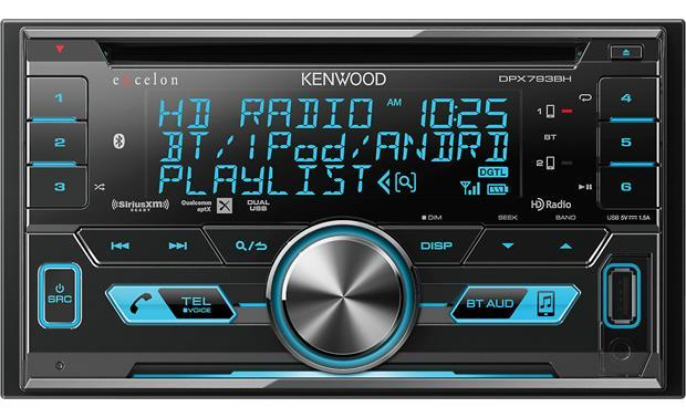 Kenwood DPX793BH - Bluetooth and HD Radio Receiver - Freeman's Car Stereo