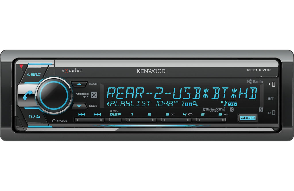 Kenwood Excelon KDC-X702 - Freeman's Car Stereo