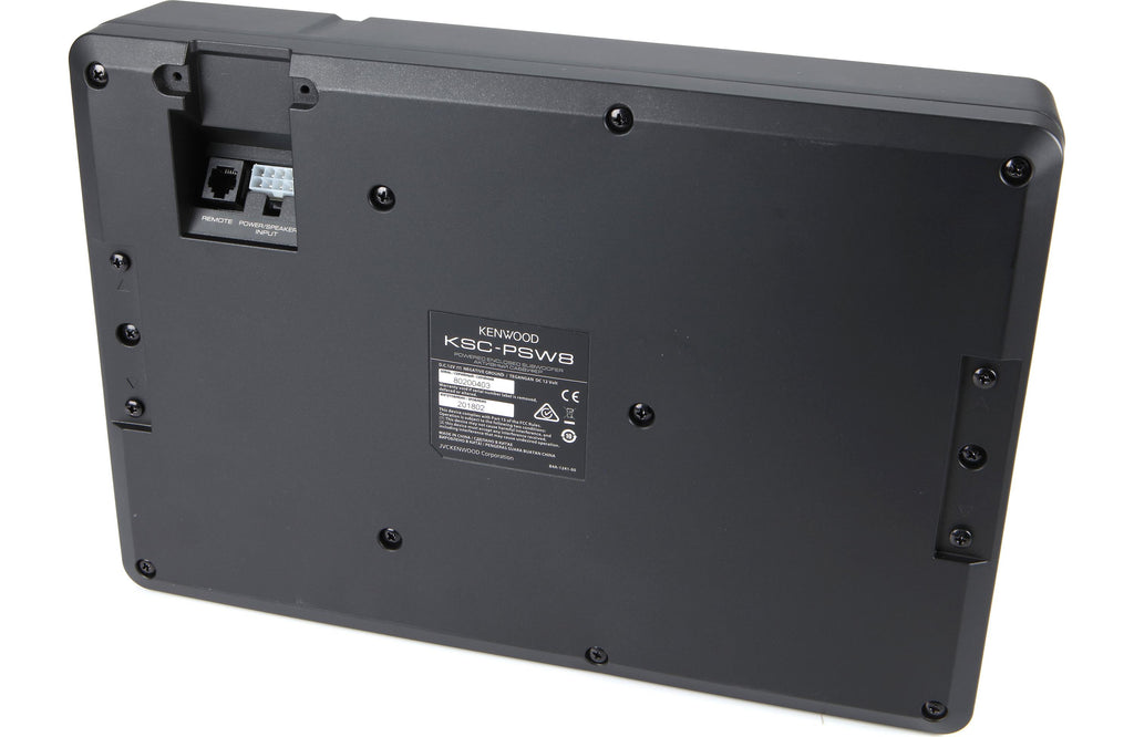 Kenwood KSC-PSW8 Powered Subwoofer - Freeman's Car Stereo