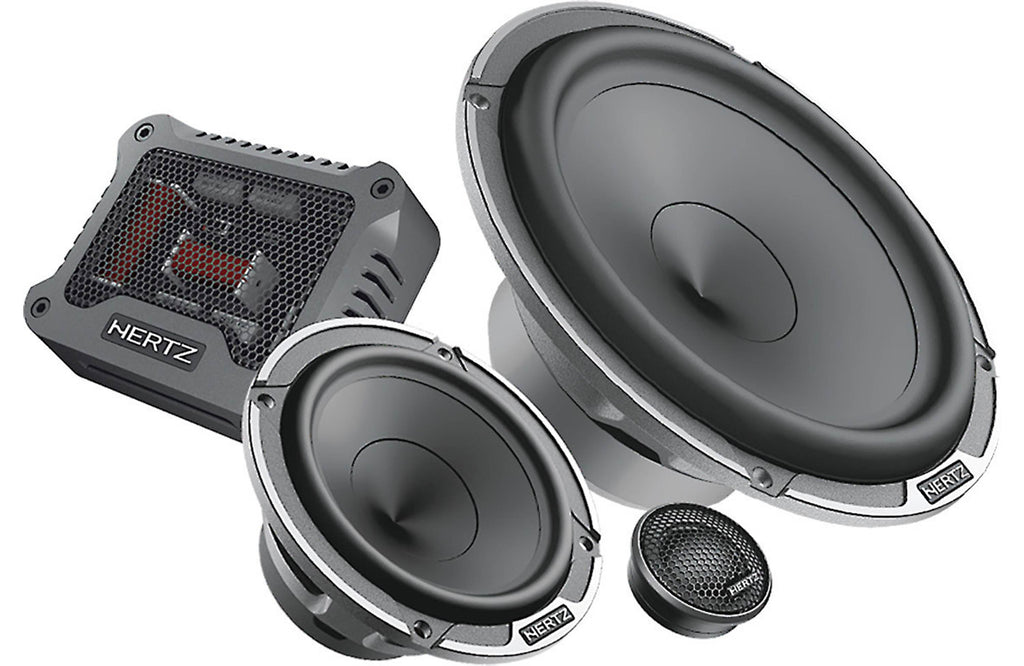 Hertz MPK 163.3 PRO - 3 Way Car Audio System Kit - Freeman's Car Stereo