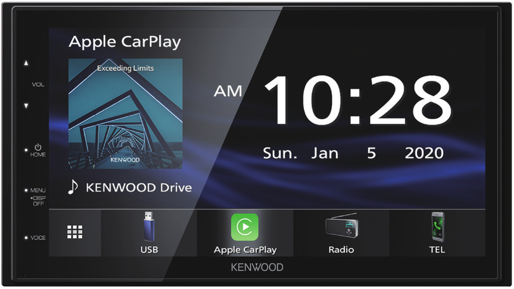 "Kenwood DMX4707S 6.8"" Apple CarPlay & Android Auto Media Receiver"