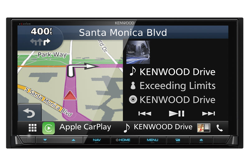 Kenwood eXcelon DNX994S - All In One Navigation Receiver - Freeman's Car Stereo