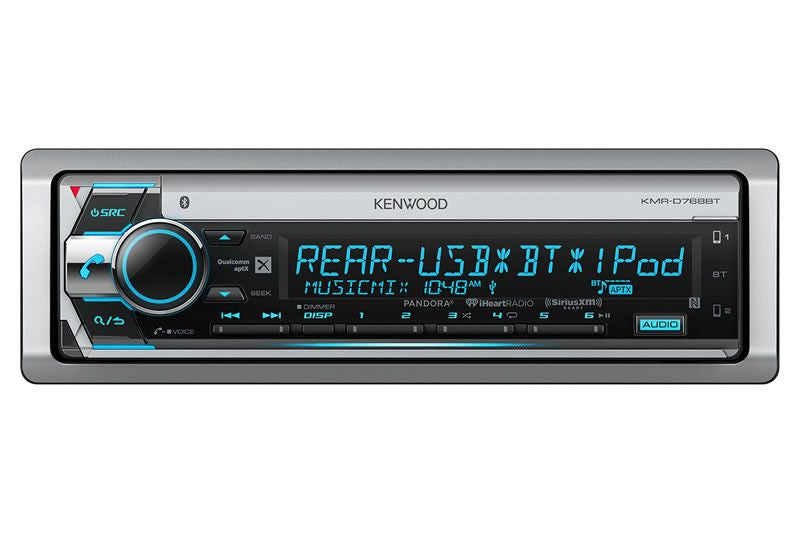 Kenwood KMR-D768BT - Marine Receiver