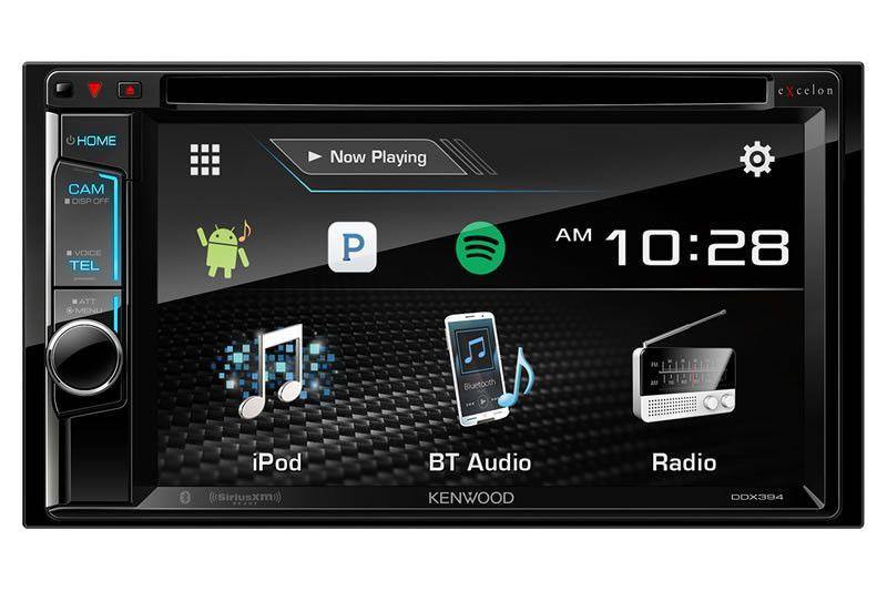 Kenwood eXcelon DDX394 - Multimedia Receiver - Freeman's Car Stereo