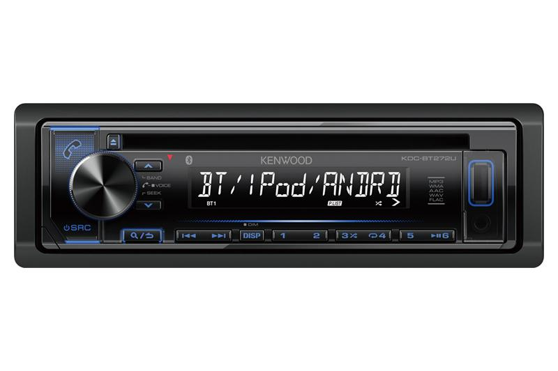 Kenwood KDC-BT272U - CD Receiver With Bluetooth - Freeman's Car Stereo