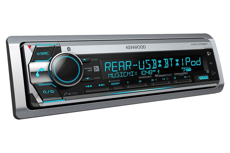 Kenwood KMR-D768BT - Marine Receiver - Freeman's Car Stereo