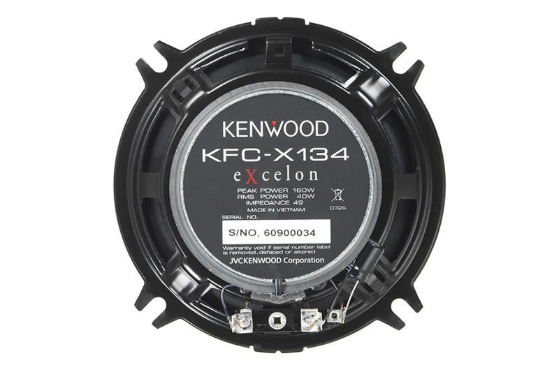 "KENWOOD KFCX134 5-1/4"" 2-Way Speaker - Freeman's Car Stereo"