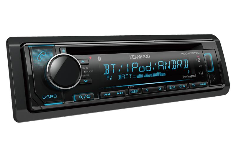 Kenwood KDC-BT372U - CD Receiver With Bluetooth - Freeman's Car Stereo
