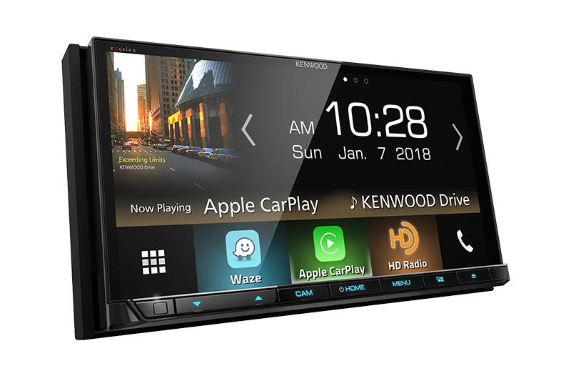 "Kenwood DDX8905s 6.95"" Hi-Res Audio, Apple CarPlay, Android Auto, Waze, Bluetooth"