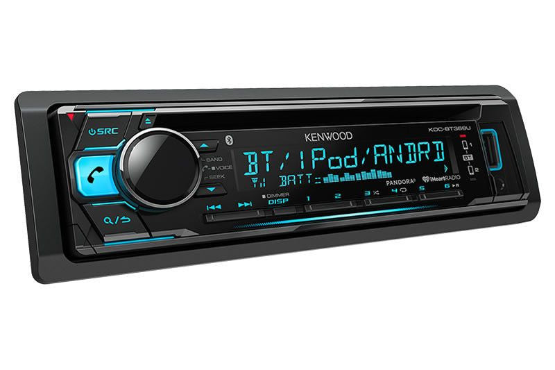 Kenwood KDC-BT368U - CD Receiver w/Bluetooth