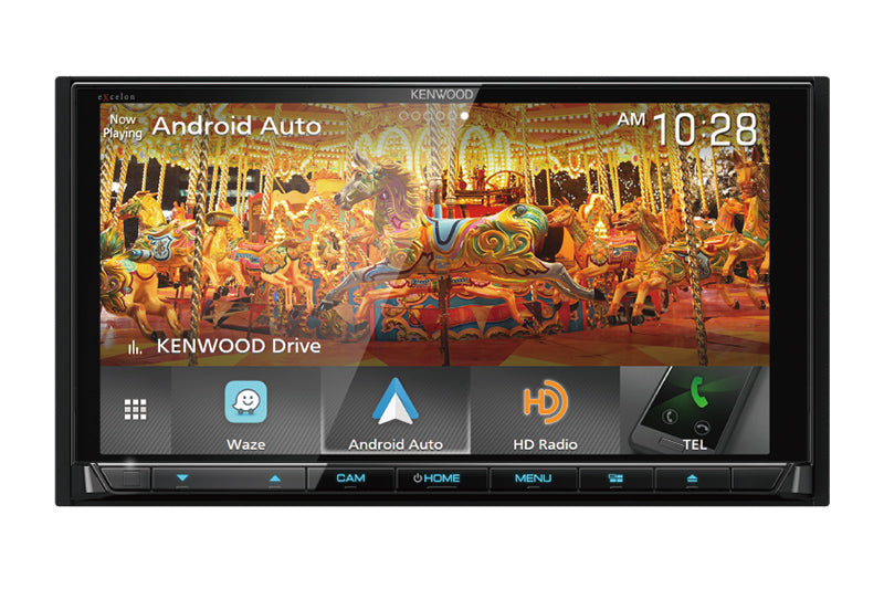 "Kenwood DDX9905S 6.75"" Apple CarPlay and Android Auto DVD Receiver - Freeman's Car Stereo"