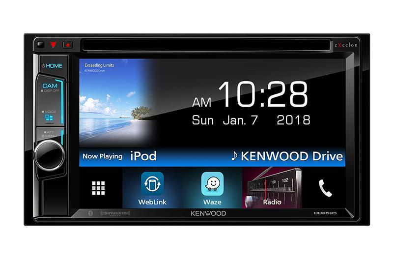 "Kenwood DDX595 6.2"" DVD Receiver with Bluetooth - Freeman's Car Stereo"