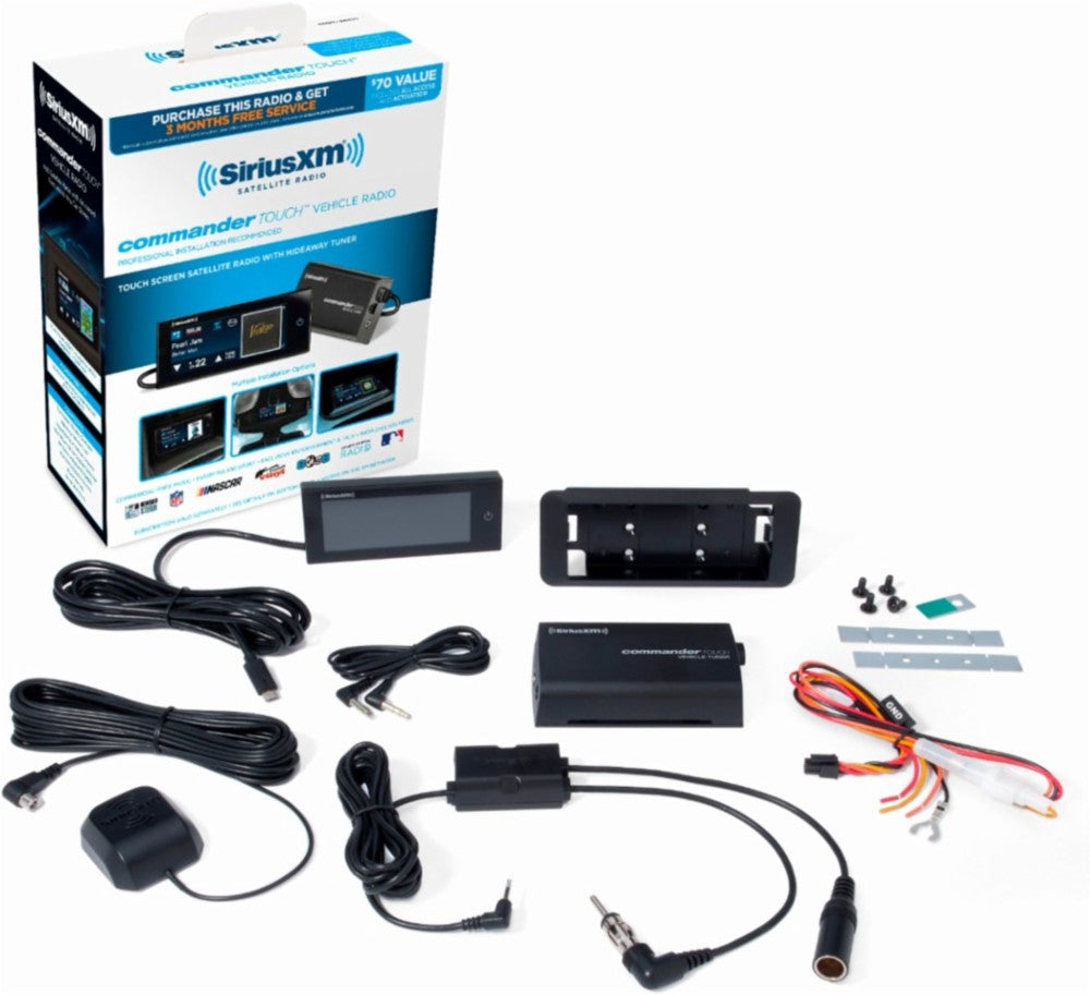 SiriusXM - Commander Touch Satellite Radio Receiver - Freeman's Car Stereo