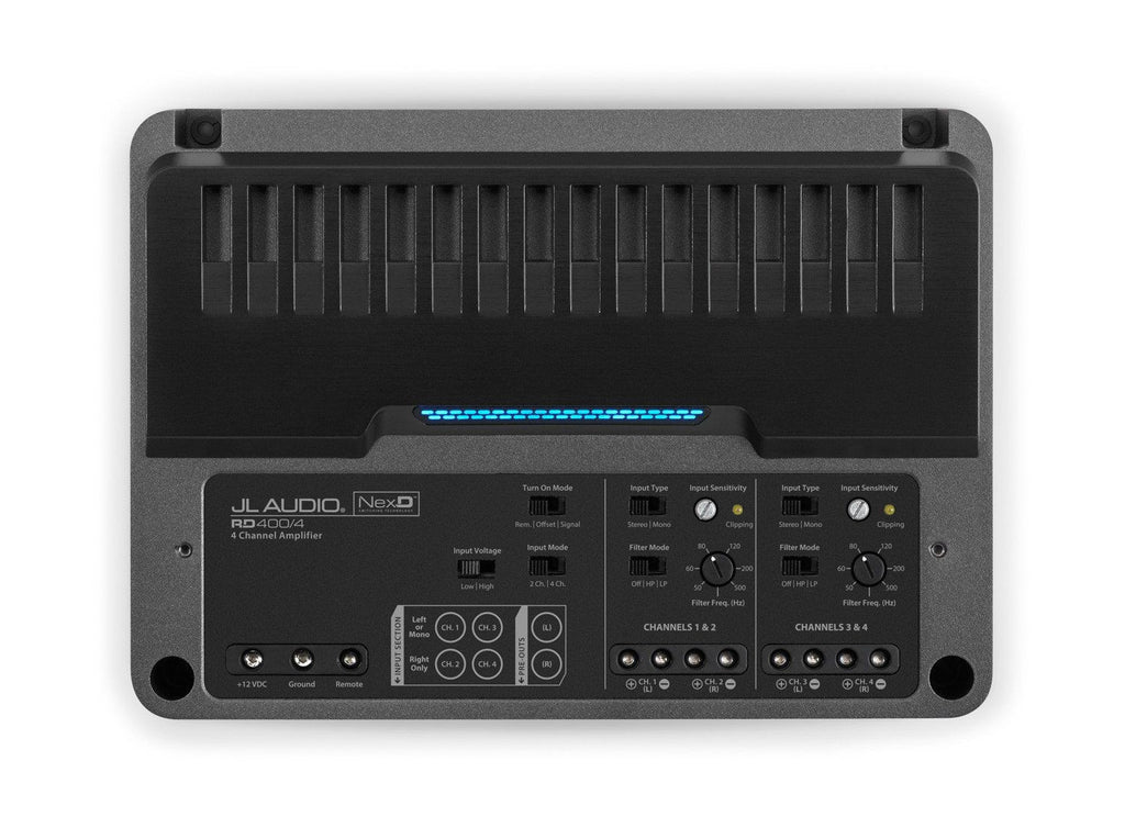 JL Audio RD400/4: 4 Ch. Class D Full-Range Amplifier, 400 W