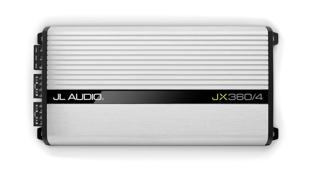 JL Audio JX360/4 - 4-Channel Class A/B Full-Range Amplifier