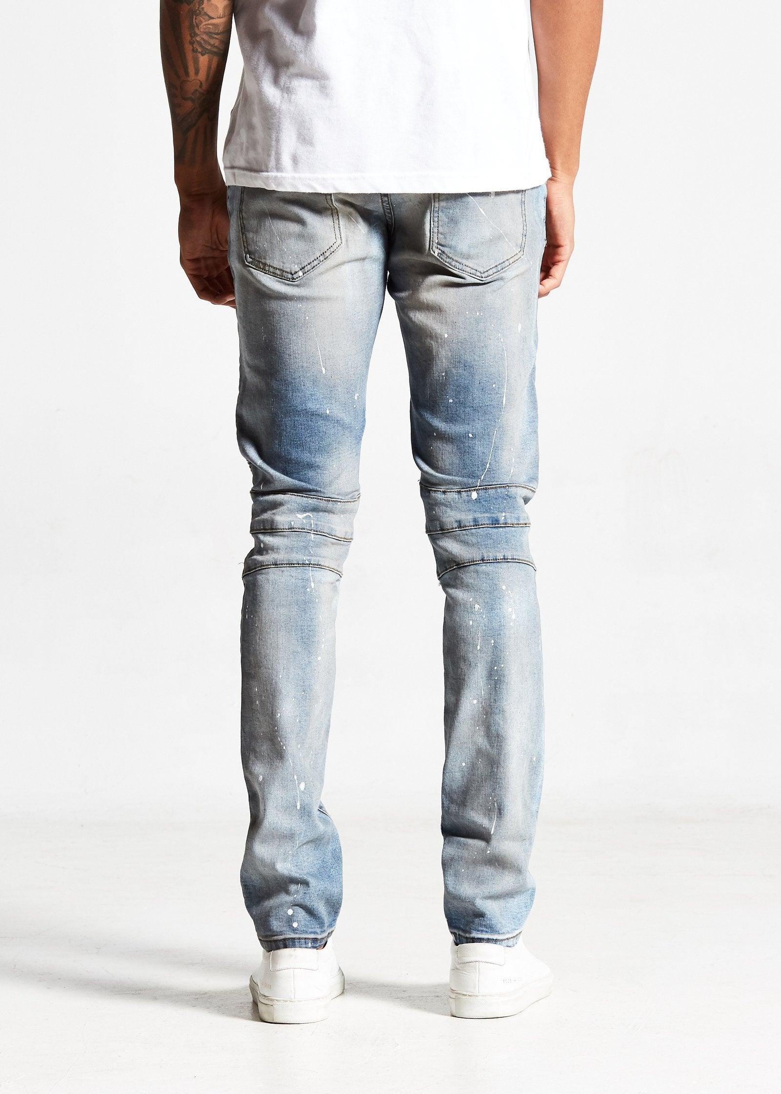 Frey Biker Denim (Sky Blue)