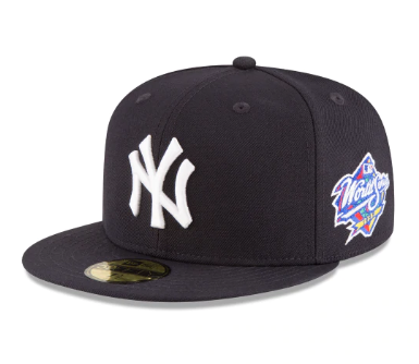 NEW YORK YANKEES 1998 WORLD SERIES WOOL 59FIFTY FITTED