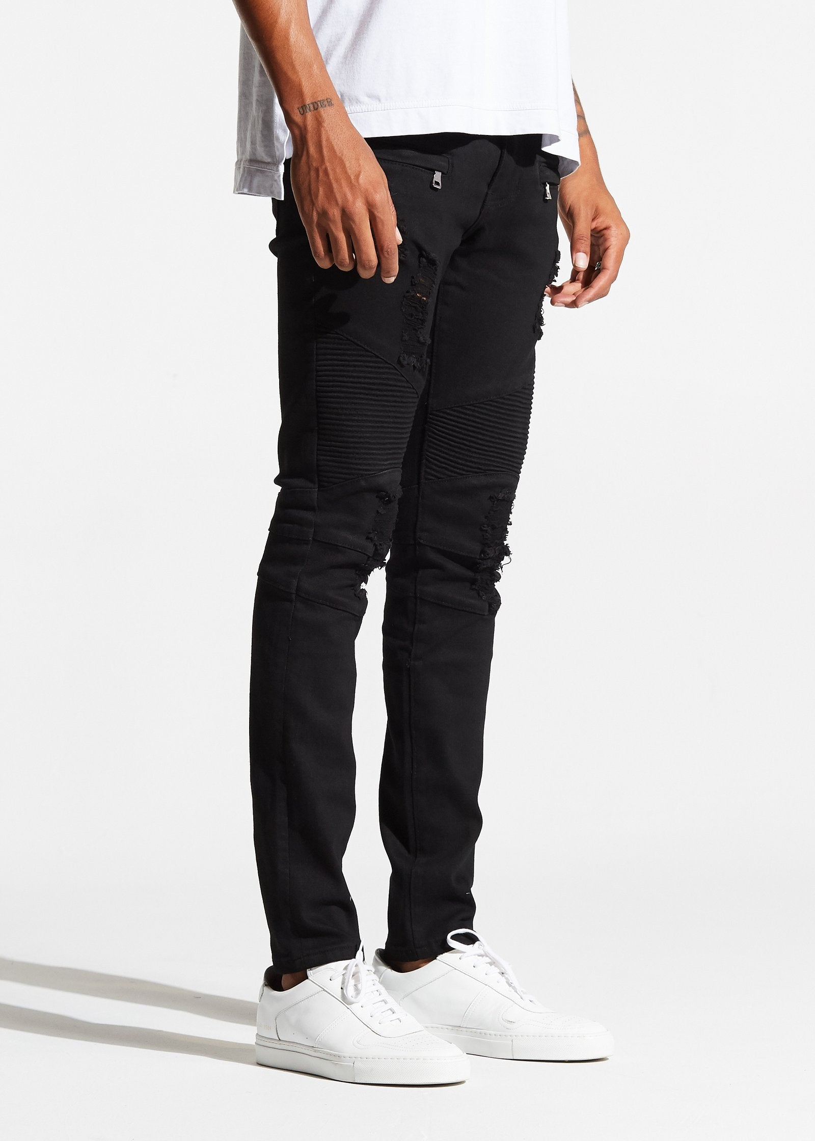 Testarossa Biker Denim (Black)