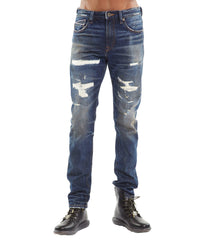 Men's Stilt Skinny Stretch Denim Jeans in Hazel