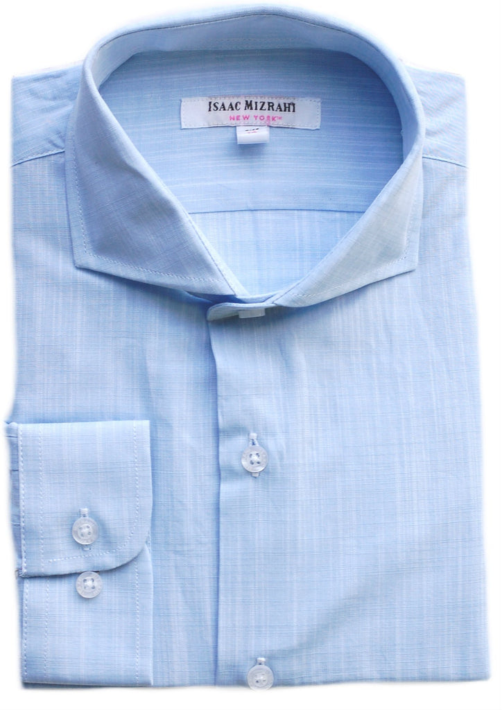 Boy's Isaac Mizrahi Dress Shirt- DS9359BL