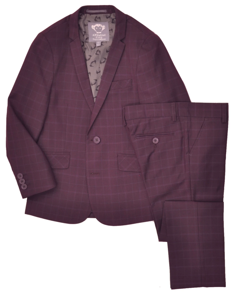 Junior Boy's Appaman Suit-SLIM FIT-KSU8SU1BU