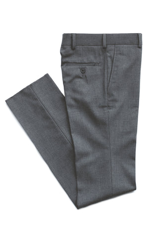 Boy's Dress Pants-Tallia-P05YBE- Straight Cut Wool Blend