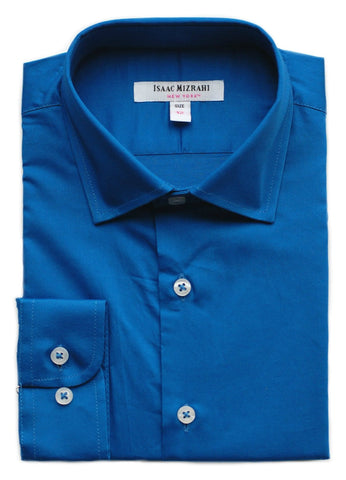 Boys' Isaac Mizrahi Non-Iron Dress Shirt- SS9500WH