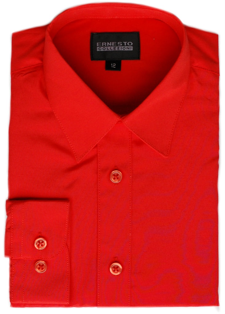Boys Dress Shirt- Ernesto Collection- DSBSICRD