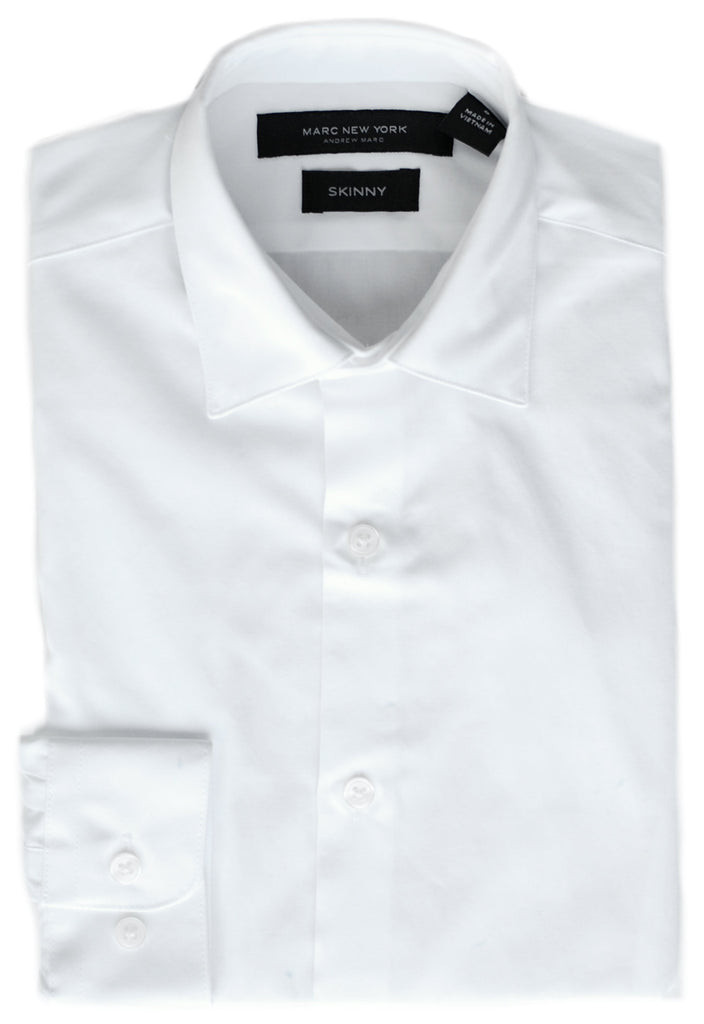 Boy's Marc New York|Andrew Marc Dress Shirt- HSMAS010WH