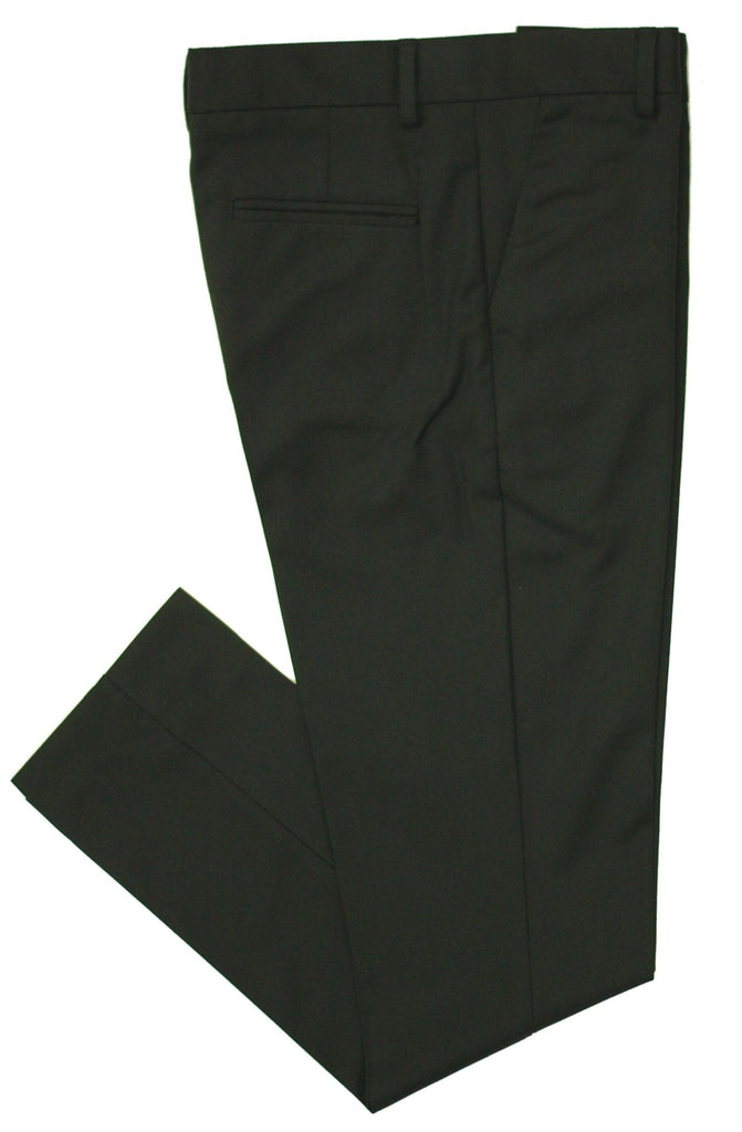 Boy's Leo & Zachary Slim Fit Husky Dress Pant- HPLZH555BK