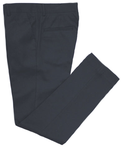 Boy's Dress Pant- Tallia- P05YSBK- Slim Fit Wool Blend