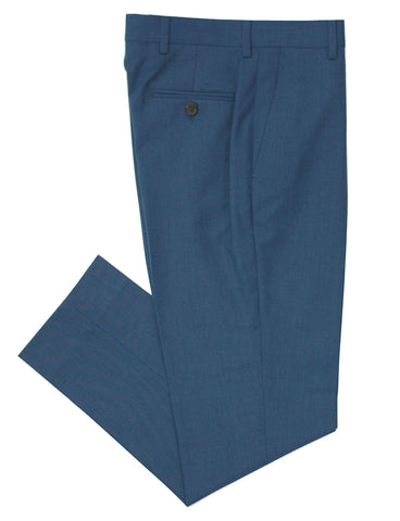 Boy's Dress Pant- Tallia- P05YNA-Straight Cut Wool Blend