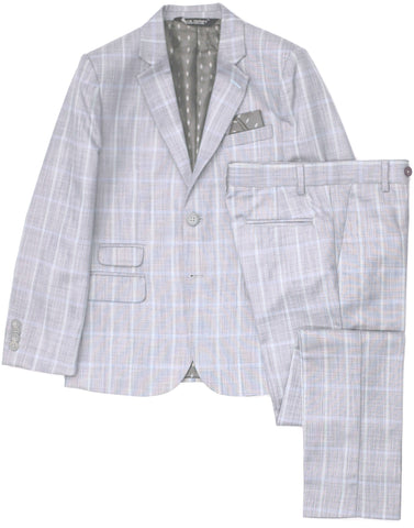 Boy's Leo & Zachary Jacket- Slim Fit- RJBL857CH