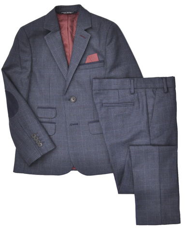 Boy's Tallia Suit- Slim Fit- RSOAY472BK