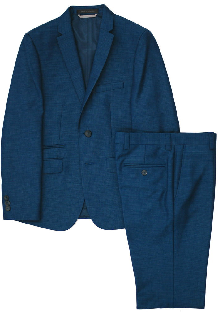 Boy's Marc New York | Andrew Marc Suit- Husky- HSMAW408BL