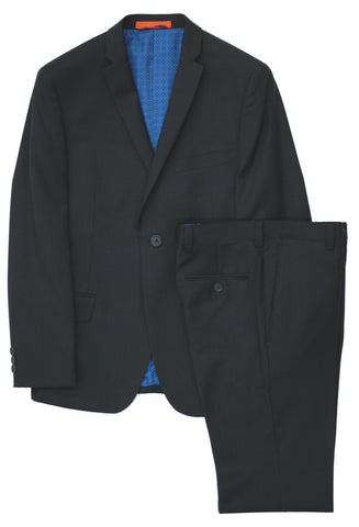 Boy's American Exchange Suit-JUNIOR-Slim Cut- KS1736BK