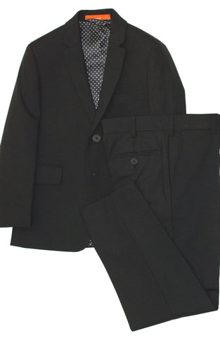 Boys 3 Piece Suit- American Exchange- KSST2069BK
