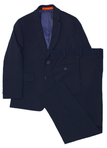 Boy's Isaac Mizrahi Suit- Slim Fit-RS2007BU