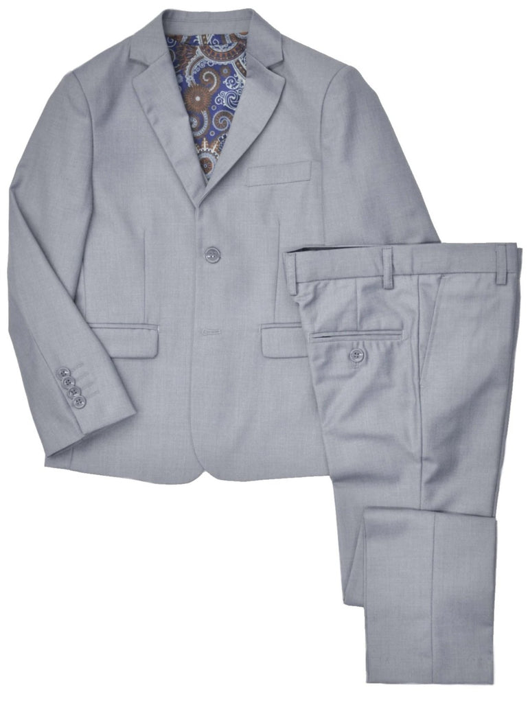 Junior Boy's Geoffrey Beene 3-Piece Suit- Slim Fit- KST1010LG
