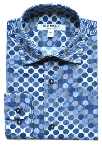 Junior Boys' Isaac Mizrahi Shirt- KS9576BL